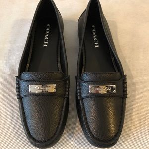 Coach Leather Loafer Flat